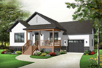 Country House Plan Front Photo 02 - 032D-0749 | House Plans and More
