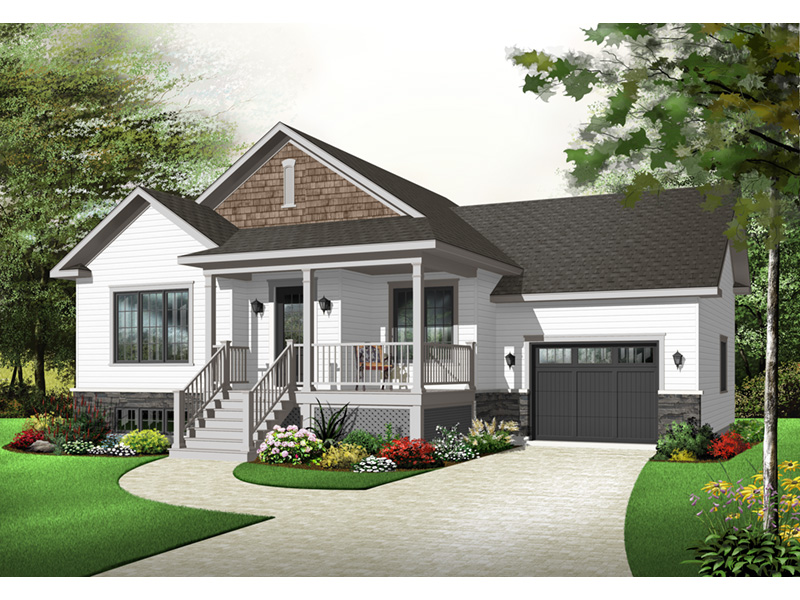 Country House Plan Front Photo 03 - 032D-0749 | House Plans and More