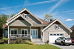Traditional House Plan Front Photo 01 - 032D-0752 | House Plans and More