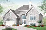 European House Plan Front of Home - 032D-0753 | House Plans and More