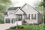 Early American House Plan Front of Home - 032D-0756 | House Plans and More