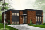 Modern House Plan Front Photo 02 - 032D-0757 | House Plans and More