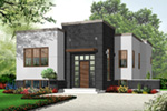 Modern House Plan Front Photo 02 - 032D-0758 | House Plans and More