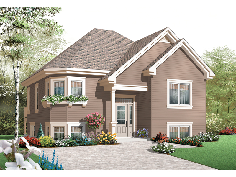 Early American House Plan Front of Home - 032D-0760 | House Plans and More