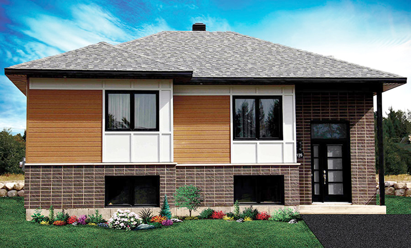 Traditional House Plan Front of Home - 032D-0762 | House Plans and More