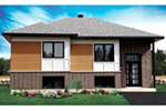 Bungalow House Plan Front of Home - 032D-0762 | House Plans and More