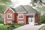 European House Plan Front of Home - 032D-0763 | House Plans and More