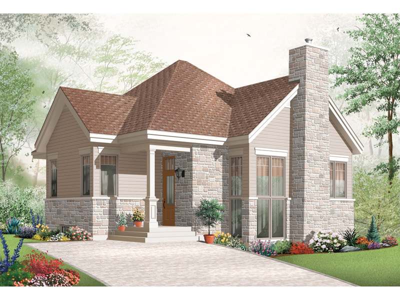 Craftsman House Plan Front Image - 032D-0764 | House Plans and More