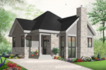 European House Plan Front of Home - 032D-0764 | House Plans and More