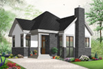 Craftsman House Plan Front Photo 01 - 032D-0764 | House Plans and More