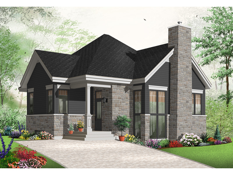 Craftsman House Plan Front Photo 02 - 032D-0764 | House Plans and More