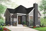 Craftsman House Plan Front Photo 03 - 032D-0764 | House Plans and More