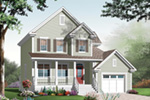 Traditional House Plan Front Image - 032D-0765 | House Plans and More