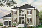 Traditional House Plan Front Photo 02 - 032D-0765 | House Plans and More