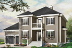 Traditional House Plan Front Photo 03 - 032D-0765 | House Plans and More