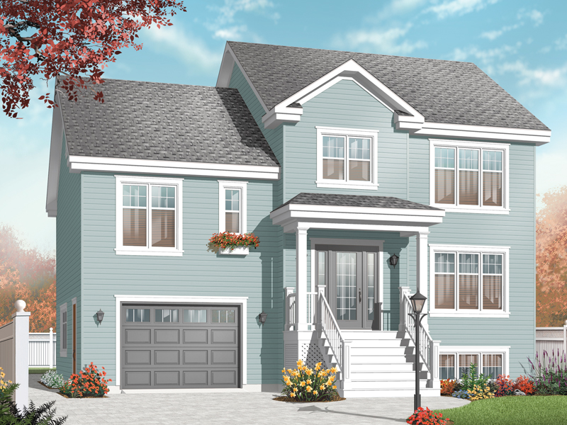 Traditional House Plan Front Image - 032D-0771 | House Plans and More