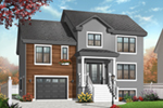 Early American House Plan Front of Home - 032D-0771 | House Plans and More