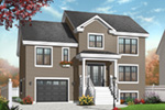 Traditional House Plan Front Photo 01 - 032D-0771 | House Plans and More