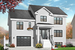 Traditional House Plan Front Photo 03 - 032D-0771 | House Plans and More