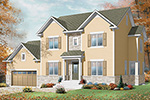 Traditional House Plan Front Image - 032D-0772 | House Plans and More