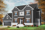Traditional House Plan Front Photo 02 - 032D-0772 | House Plans and More