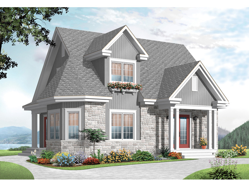 Traditional House Plan Front Image - 032D-0775 | House Plans and More