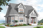 European House Plan Front Image - 032D-0775 | House Plans and More