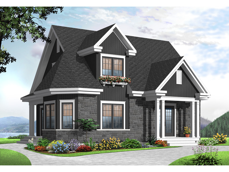 Traditional House Plan Front Photo 01 - 032D-0775 | House Plans and More