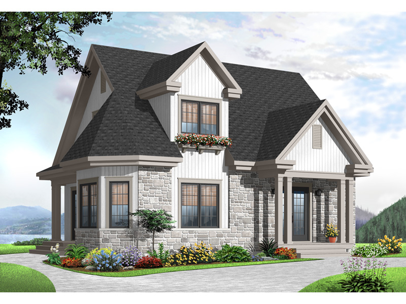 Traditional House Plan Front Photo 03 - 032D-0775 | House Plans and More