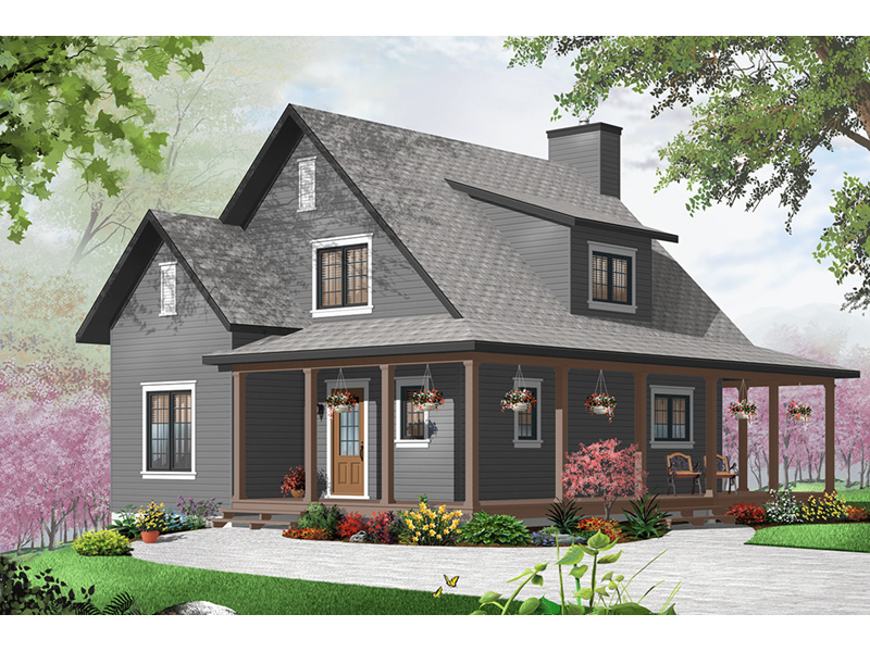 English Cottage House Plan Front Photo 01 - 032D-0777 | House Plans and More