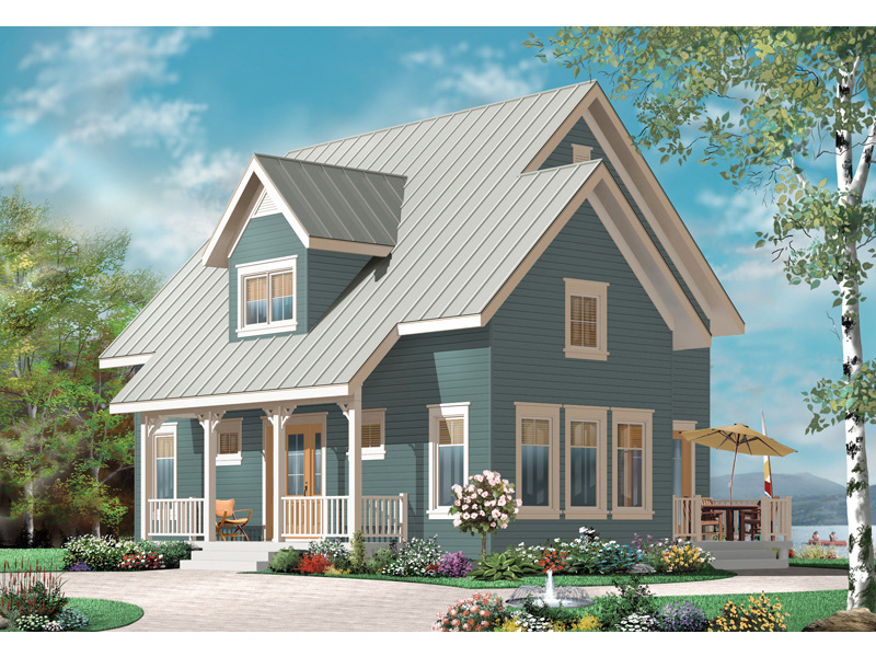 English Cottage House Plan Front Image - 032D-0778 | House Plans and More