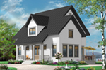 Bungalow House Plan Front of Home - 032D-0778 | House Plans and More