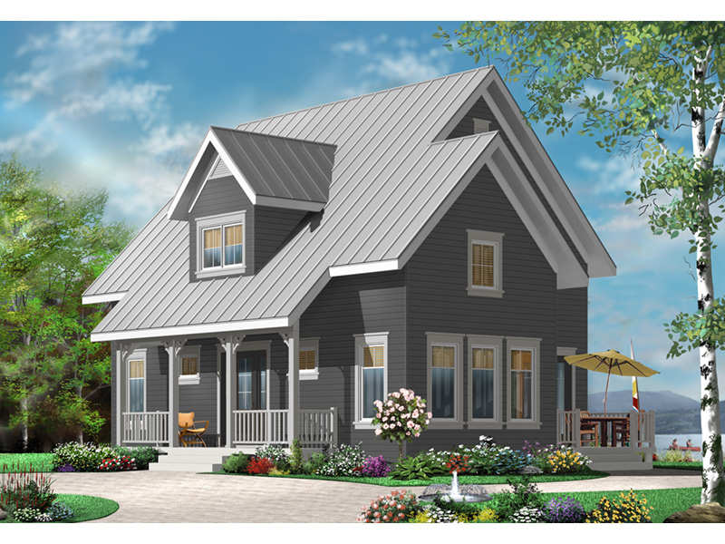 English Cottage House Plan Front Photo 01 - 032D-0778 | House Plans and More