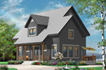 English Cottage House Plan Front Photo 02 - 032D-0778 | House Plans and More
