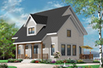 English Cottage House Plan Front Photo 03 - 032D-0778 | House Plans and More