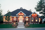 Traditional House Plan Front of Home - 032D-0779 | House Plans and More