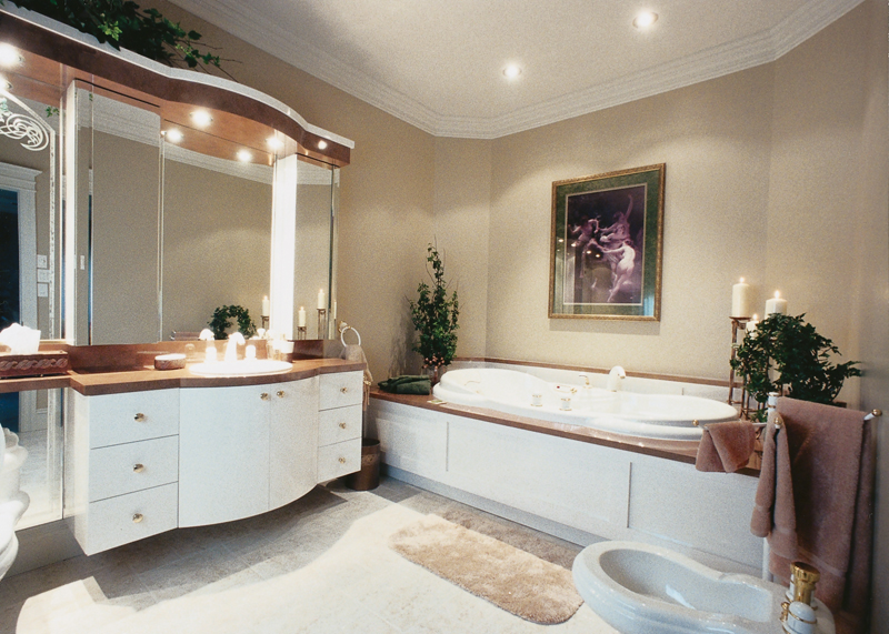 European House Plan Master Bathroom Photo 01 - 032D-0779 | House Plans and More