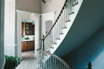 European House Plan Stairs Photo - 032D-0779 | House Plans and More