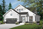 Early American House Plan Front of Home - 032D-0780 | House Plans and More