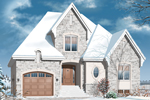 European House Plan Front Image - 032D-0781 | House Plans and More