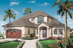 Sunbelt Home Plan Front of Home - 032D-0784 | House Plans and More