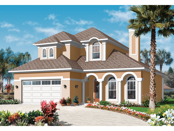 Fern pointe florida style home plan 032d 0786 house for Florida house styles