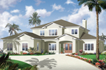 Sunbelt Home Plan Front of Home - 032D-0787 | House Plans and More