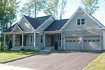 Traditional House Plan Front of Home - 032D-0788 | House Plans and More