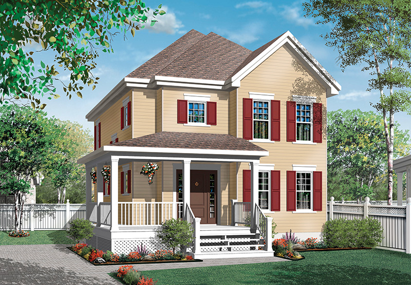 Country House Plan Front Image - 032D-0789 | House Plans and More