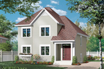European House Plan Front of Home - 032D-0790 | House Plans and More