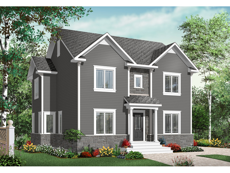 European House Plan Front Photo 01 - 032D-0791 | House Plans and More