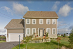 Early American House Plan Front of Home - 032D-0796 | House Plans and More