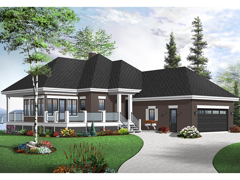 Country House Plan Front Photo 02 - 032D-0801 | House Plans and More