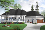 Country House Plan Front Photo 04 - 032D-0801 | House Plans and More